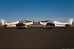 """F-BJDR est vendu en Juillet 1997 à Mr Jean Dumas, déjà propriétaire d'un D140 et qui restaure F-BJDR au standard D140C """"Mousquetaire III"""", remis en vol en 2001"""